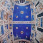 Ceiling of Giotto's Arena Chapel (Cappella degli Scrovegni).