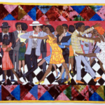 Image credit:Faith Ringgold, Groovin' High, 1986.